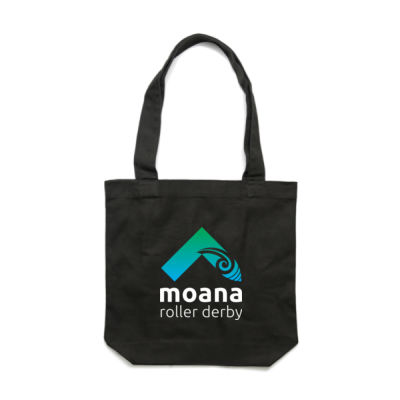Moana Roller Derby Logo - Carry Bag Thumbnail